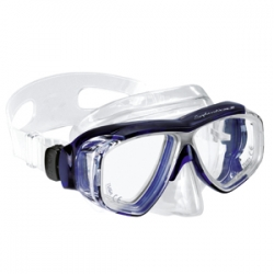 Професионална маска за гмуркане с диоптър